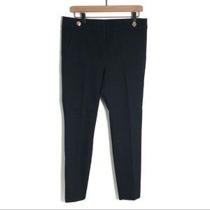 Loft black marisa pencil dress pants skinny ankle